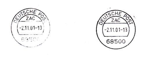 Deutsche post stempel - Bürozubehör